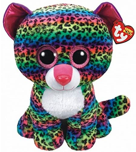 Ty Beanie Boo Dotty Leopard  The Bubble Room Toy Store Dublin