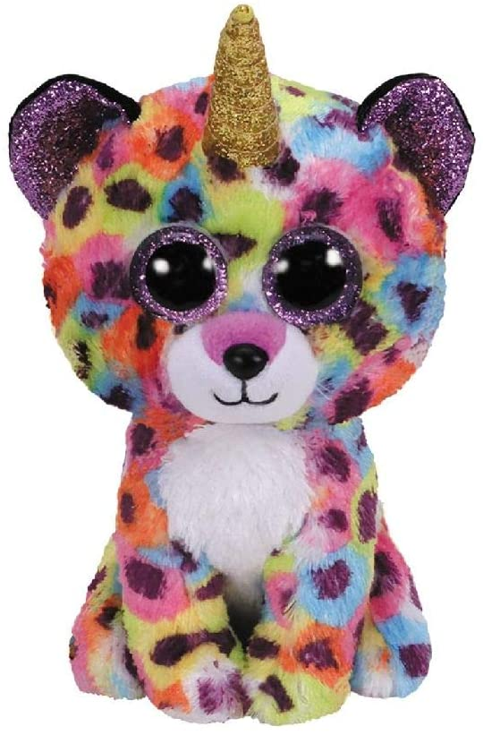 Beanie Boo Giselle Leopard  The Bubble Room Toy Store Dublin