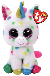 "Ty Beanie Boo harmonie Unicorn Large 16"" The Bubble Room Toy store Dublin"
