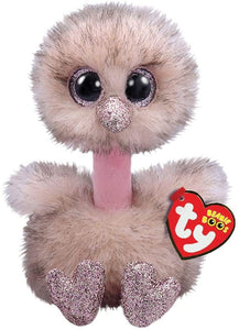 Beanie Boo Henna Brown Ostrich The Bubble Room Toy store Dublin