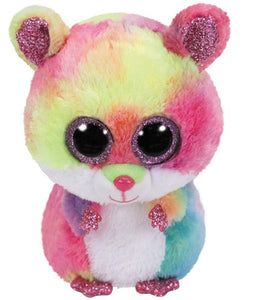 "Ty Beanie Boo Rodney Hamster 6"" The Bubble Room Toy Store Dublin"