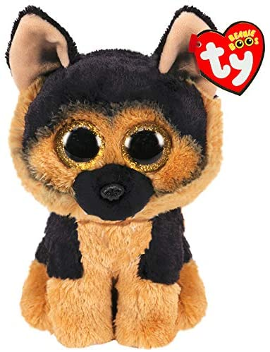 This is Spirit the German Shepherd - part of the amazing TY Beanie Boo glittery eyed range. Approx 6