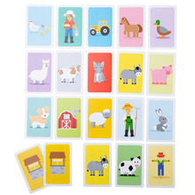 Load image into Gallery viewer, Bigjigs Farmyard Donkey card Game The Bubble Room toy store Skerries Dublin