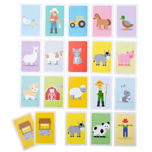 Bigjigs Farmyard Donkey card Game The Bubble Room toy store Skerries Dublin