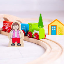 Load image into Gallery viewer, Bigjigs Figure of eight train set The Bubble Room Toy Store Skerries Dublin