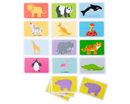 Bigs Jigs Snap Wild Animals Card Game The Bubble Room Toy store Dublin