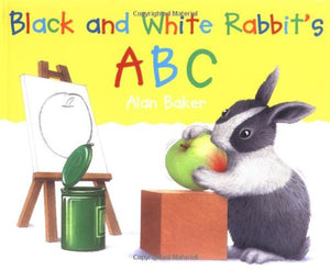 Black and White Rabbit ABC The Bubble Room Toy Store Dublin Ireland