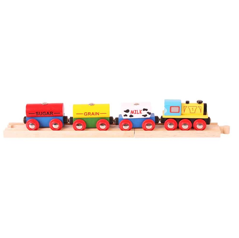 Bigjigs cereal train  The Bubble Room Toy Store Skerries Dublin