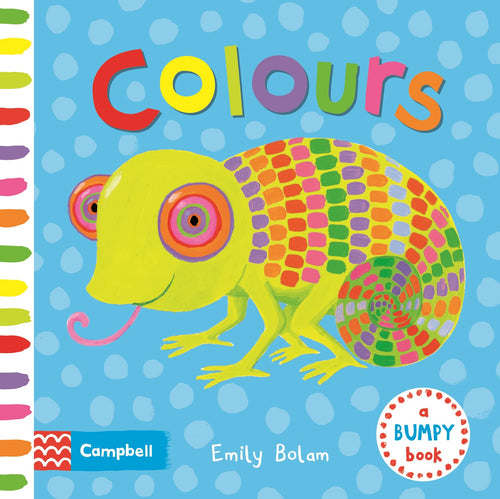Colours Bumpy Book The Bubble Room Toy Store Dublin