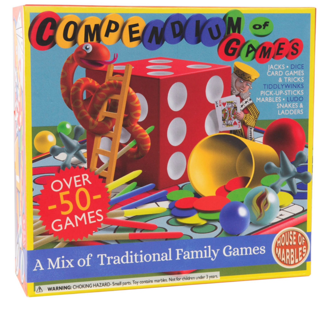 House of Marbles Compendium of Games The Bubble Room Toy Store Dublin