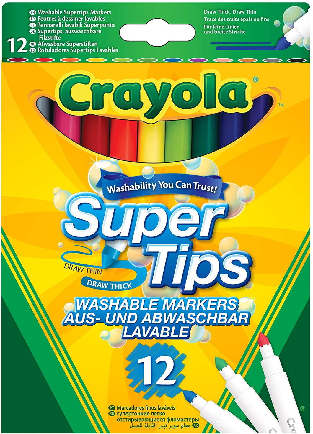 Crayola SuperTips  The Bubble Room Toy Store Skerries Dublin
