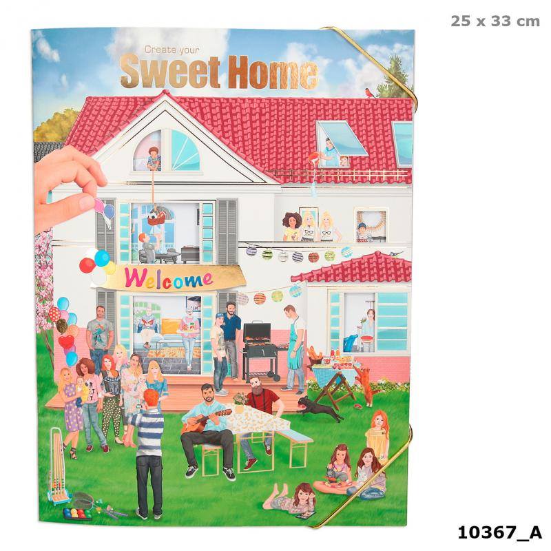 Sweet Home Sticker and colouring book The Bubble Room Dublin