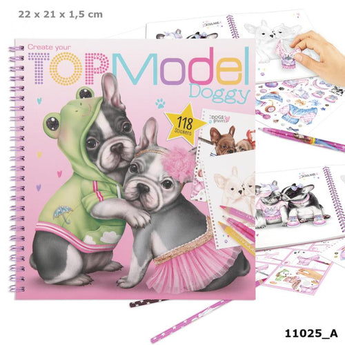 Top Model Doggie Colouring Book The Bubble Room Toy Store Dublin