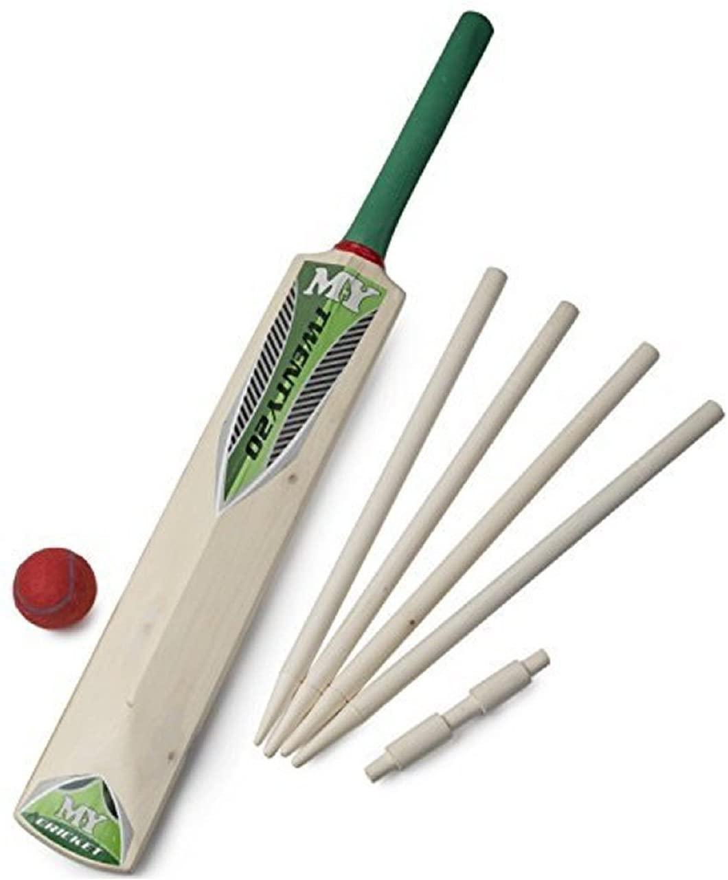M.Y Size 5 Cricket Set In Mesh Carry Bag The Bubble Room Toy Store Skerries Dublin