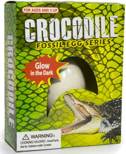 Crocodile Fossil Egg glow in the dark The Bubble Room Toy Store Dublin