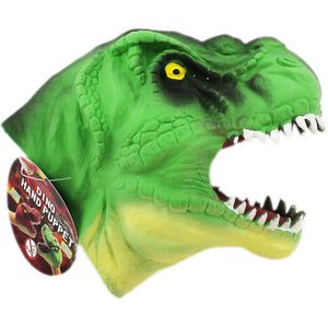 Dinosaur Hand Puppet Soft Rubber The Bubble Room Toy Store Dublin