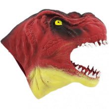 Load image into Gallery viewer, Dinosaur Hand Puppet Soft Rubber The Bubble Room Toy Store Dublin