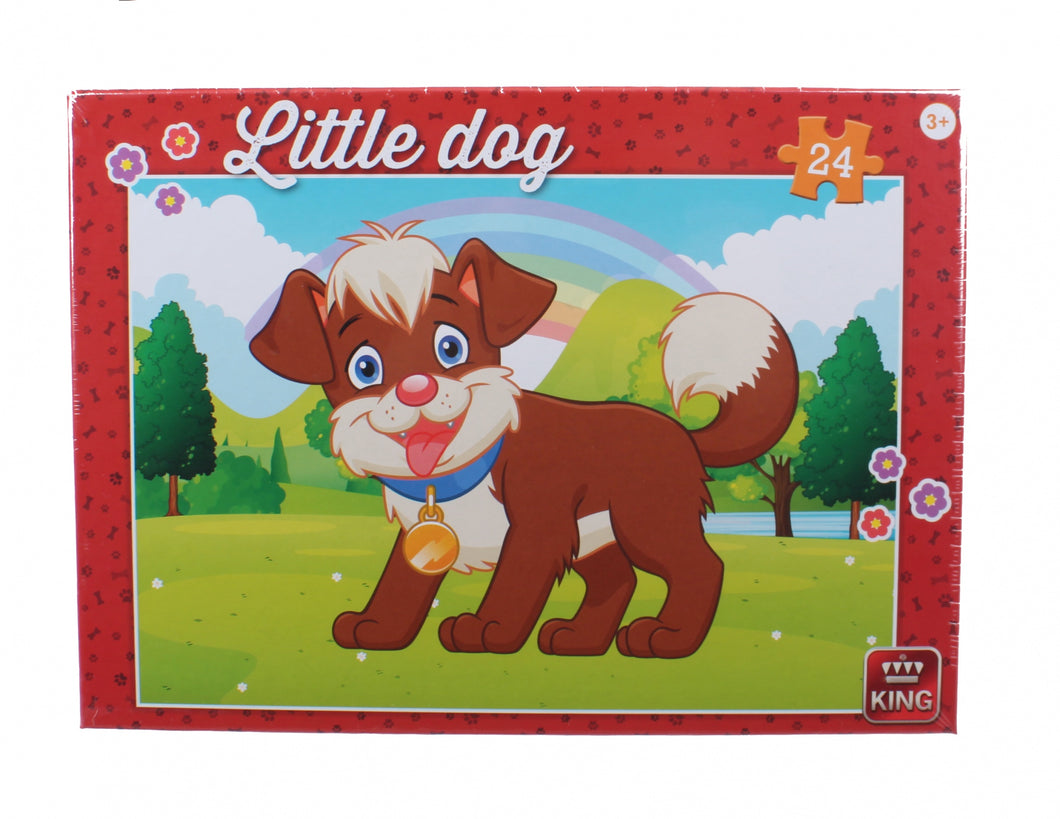 Little Dog In The Park  jigsaw Puzzle The Bubble Room Toy Store Dublin