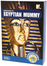 Load image into Gallery viewer, Keycraft  Egyptian Mummy Archeology Excavation Discovery Kit The Bubble Room Toy Store Dublin
