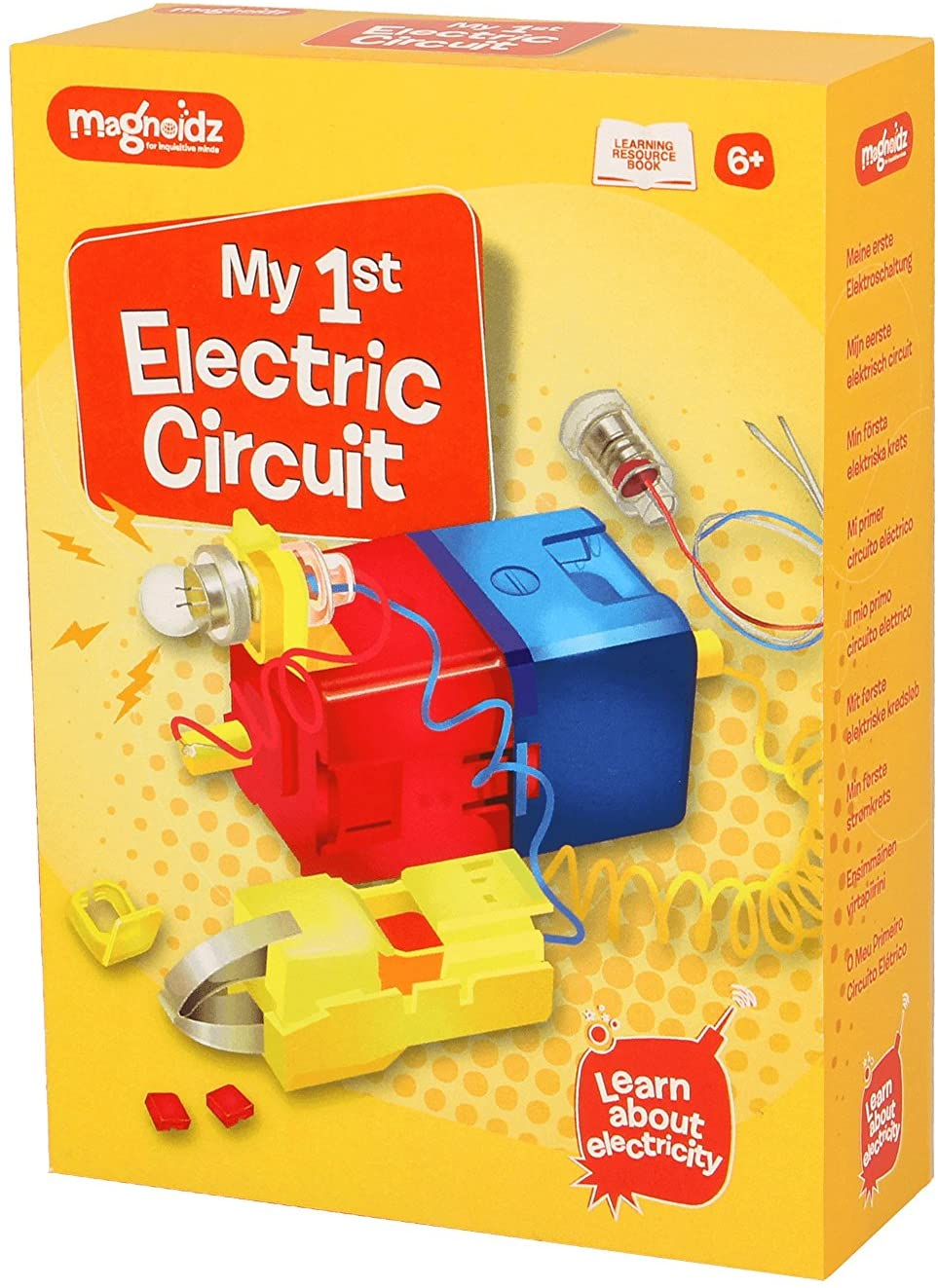 Magnoidz Labs My 1st Electric Circuit Science Kit The Bubble Room Toy Store Dublin