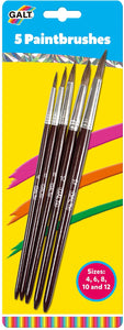 Galt Toys Five Paint Brushes Set The Bubble Room Toy Store Dublin