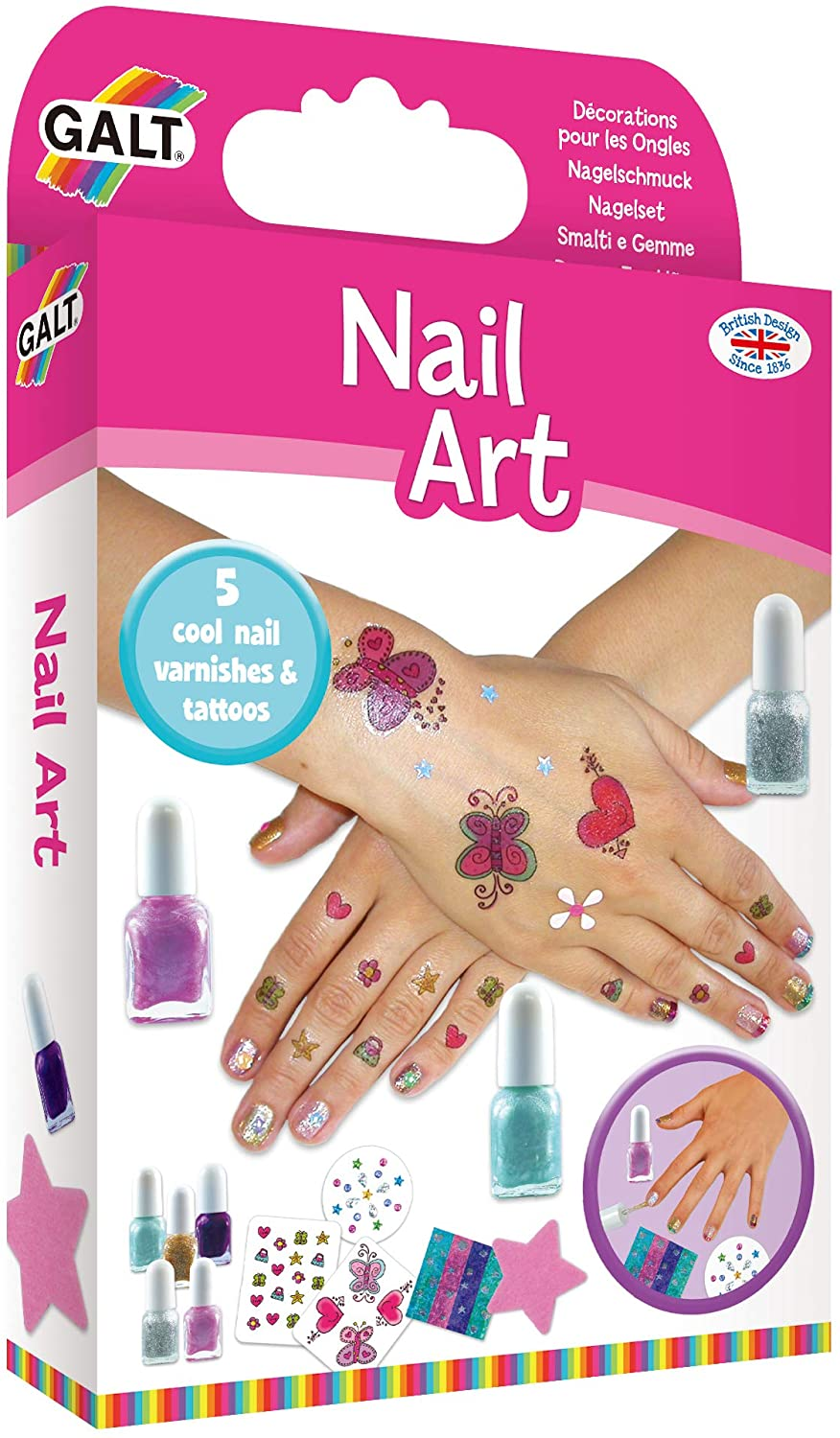 Galt Toys Nail Art Kit The Bubble Room Toy Store Dublin