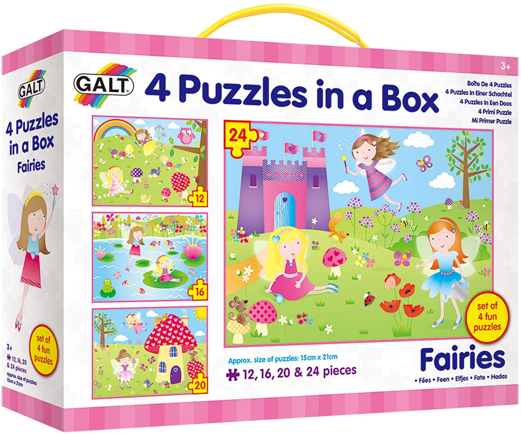 4 Puzzles in a box The Bubble Room Toy Store Skerries Dublin Ireland