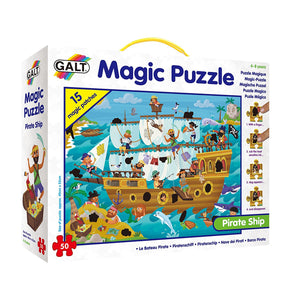 Galt Toys Magic Puzzle Pirate Ship the Bubble Room Toy store dublin