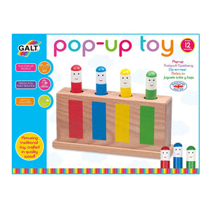 Galt Pop Up wooden Toy The Bubble Room Toy Store Dublin