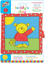 Load image into Gallery viewer, Galt Toys Teddys Day Cloth Book The Bubble Room Toy Store Dublin