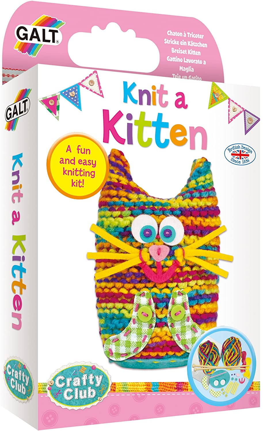 Galt Knit a Kitten The Bubble Room Toy Store Dublin