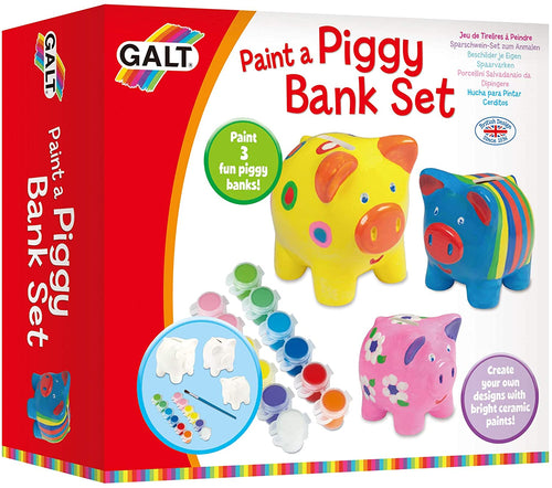Galt Toys Paint A Piggy Bank Set The Bubble room Toy Store dublin