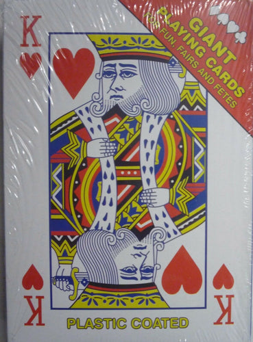 Giant Playing Cards The Bubble Room Toy Store Skerries Dublin
