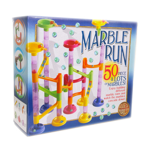 House of Marbles 50 piece Marble Run The Bubble Room Toy Shop Dublin