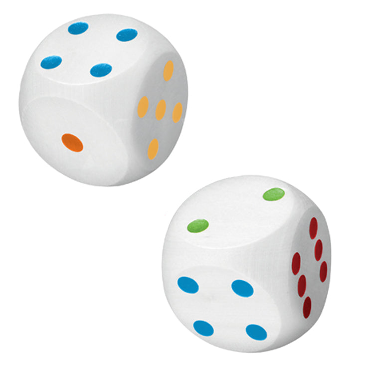 House Of Marbles Giant Wooden Dice The Bubble Room Toy Store Dublin