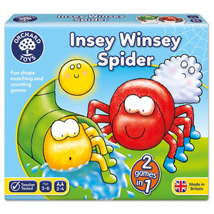 Orchard Toys Insey Winsey Spider The Bubble Room Toy Store Dublin