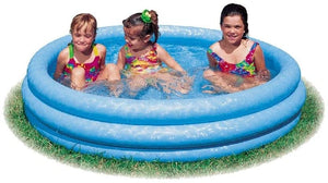 Intex  Crystal Blue Three Ring Inflatable Paddling Pool The Bubble Room Dublin