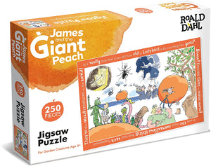Roald Dahl  James And The Giant Peach 250 pc Jigsaw Puzzle The Bubble Room Toy Store Dublin