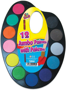 Jumbo Paint Pallette The Bubble Room Art and Craft store dublin