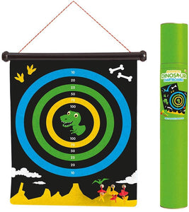 Keycraft  Dinosaur Magnetic Dartboard The Bubble Room Toy Store Dublin