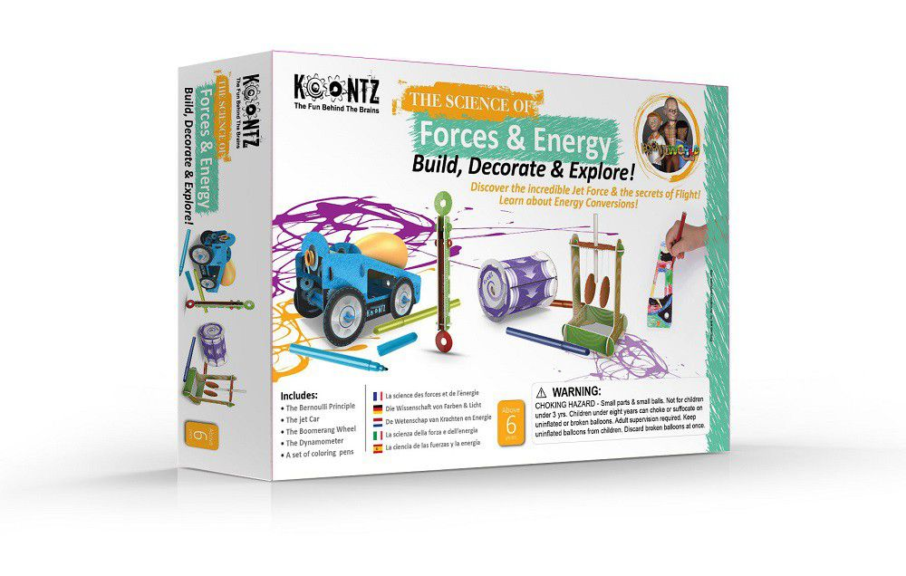 Koontz Forces & Energy The Bubble Room Toy Store Dublin