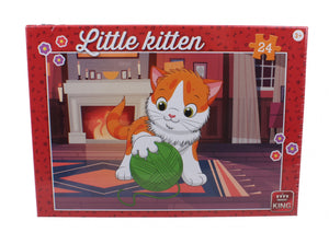 Little Kitten jigsaw The Bubble Room Toy Store Skerries Dublin