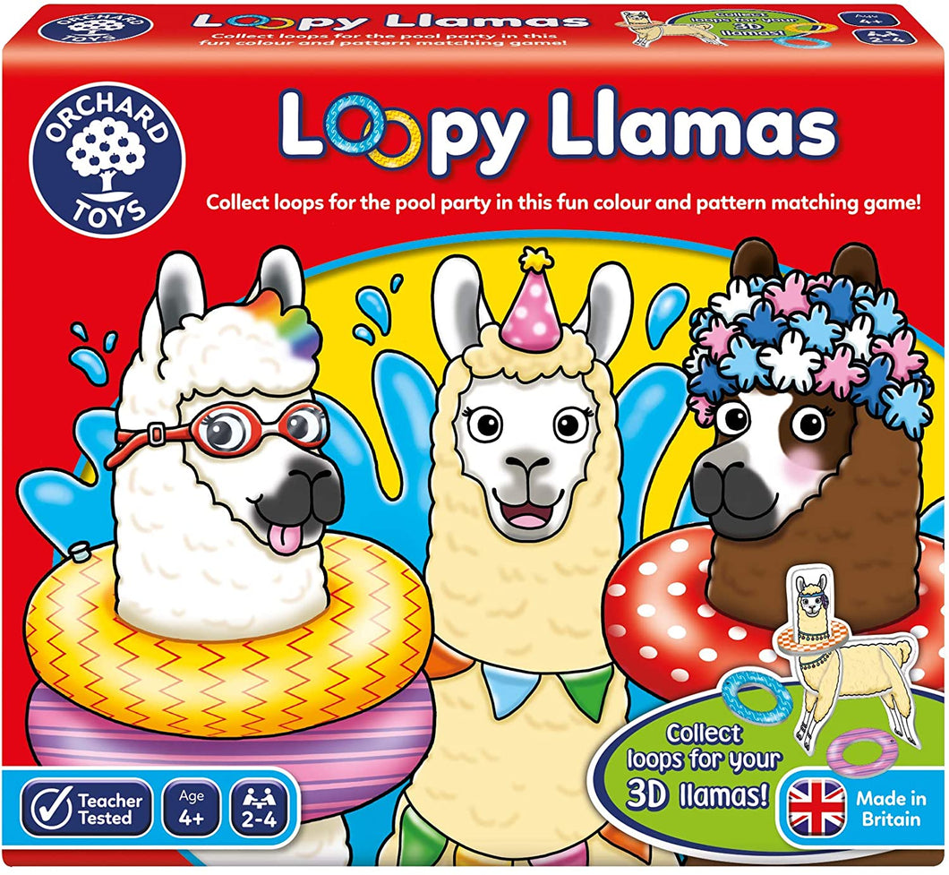 Loopy Llamas Game The Bubble Room Toy Store Dublin