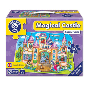 Orchard Toys Magical Castle Jigsaw Puzzle The Bubble Room Toy Store Dublin