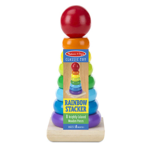 Melissa & Doug Rainbow Stacker The Bubble Room Toy Store Dublin