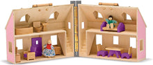 Load image into Gallery viewer, Melissa & Doug Fold & Go Mini Dollhouse The Bubble Room Toy Store Dublin