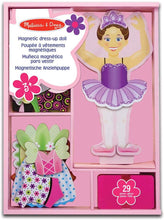 Load image into Gallery viewer, Melissa & Doug Nina Ballerina  Magnetic Dress Up Set