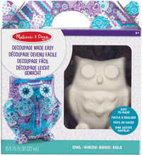 Load image into Gallery viewer, Melissa & Doug Decoupage Owl The Bubble Room Toy Store Dublin