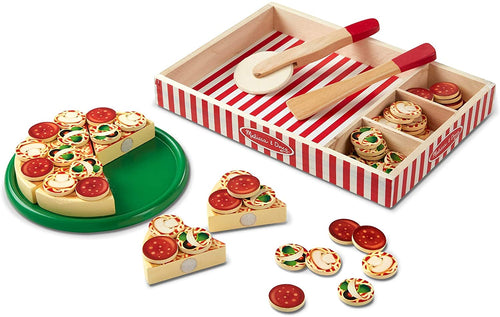 Melissa & Doug Wooden Pizza  The Bubble Room Toy Store Skerries Dublin