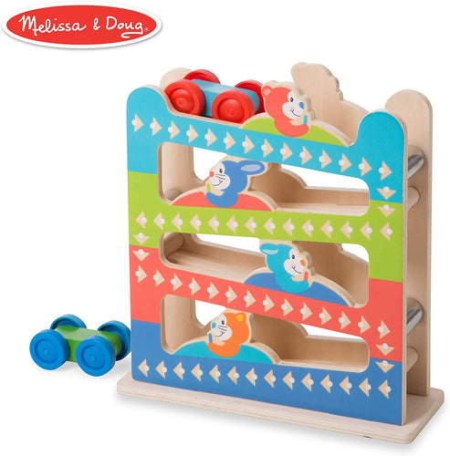 Melissa & Doug First Play Roll & Ring Ramp Tower The Bubble Room Toy Store Dublin